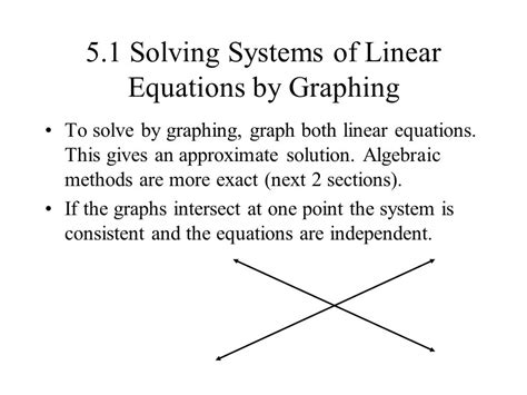 51 Solving Systems Of Linear Equations By Graphing  Ppt Download