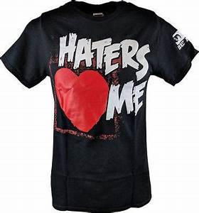The Miz Haters Love Me Cuz I'm Awesome Mens T-shirt ...