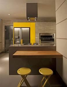Couleur De Cuisine : couleur pour cuisine 105 id es de peinture murale et fa ade ~ Voncanada.com Idées de Décoration