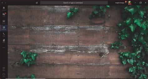 adding  virtual background  microsoft teams crayon