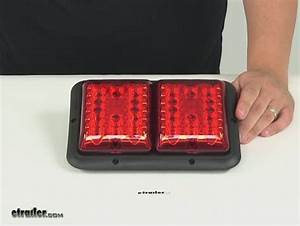 Bargman Led  Recessed  Double Tail Light