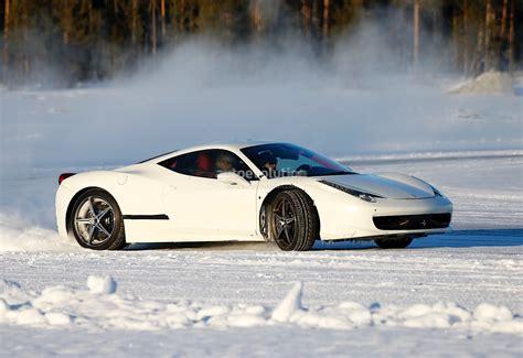 Rc drift car ferrari 458. Ferrari 458 Replacement Spied Drifting on Ice - autoevolution