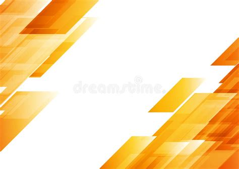 Abstract Orange Shapes by Hi Tech Orange Shapes Abstract Vector Background Stock