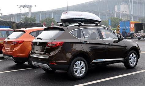 spy shots landwind  suv arrives   guangzhou auto