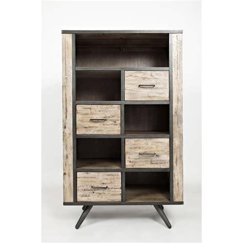 Bookcase Furniture Store by Rustic Gray Bookcase American Retrospective Rc Willey