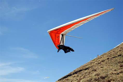 Hang Gliding, central Switzerland