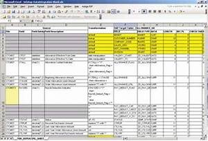 mapping analyst for excel in informatica 86 obia With etl requirements template