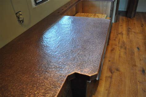Antique Custom Copper Counter top
