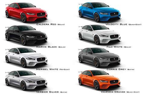 jaguar colors jaguar xe sv project 8 the most powerful and agile