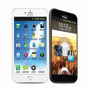 Buy VOX 4 SIM Touch Screen TV Mobile With Dual Camera