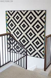 Remodelaholic budget friendly diy large wall decor ideas