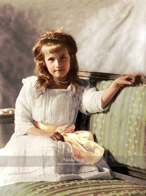 grand duchess anastasia nikolaevna romanova  russia