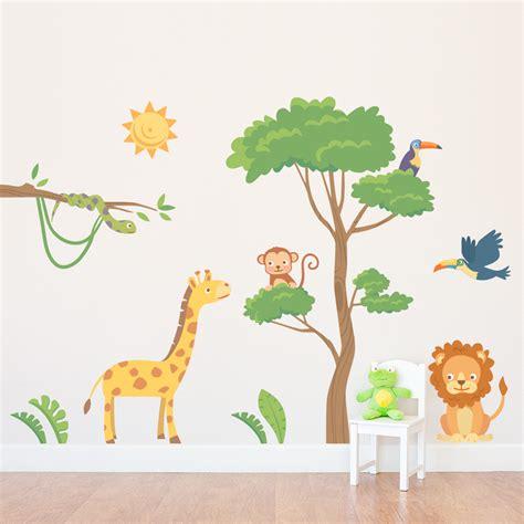 Safari Wall Decals Roselawnlutheran