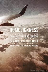 Homesick Quotes Pinterest. QuotesGram