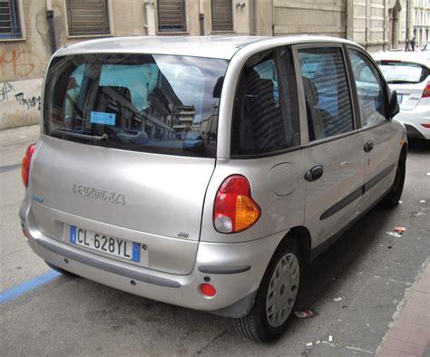 fiat multipla for file fiat multipla silver rear jpg