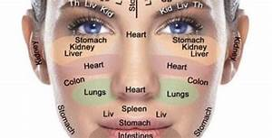 Face Mapping  U2014 The Window To Your Health And Wellbeing