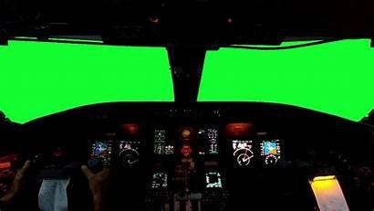 Cockpit Screen Aircraft