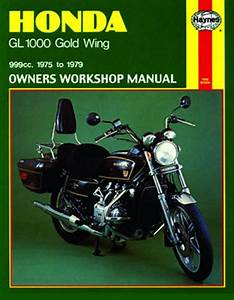 Honda Gl1000 Gold Wing Haynes Repair Manual  1975