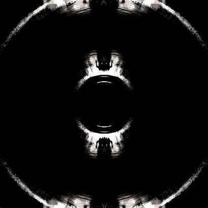 Dark Trippy Loop Ghost Circle Animated Night