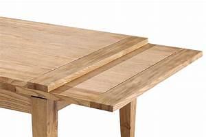 Table Rallonge Bois : table manger cottage en bois extensible rose moore ~ Teatrodelosmanantiales.com Idées de Décoration