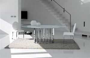 Table Ovale Design : table ovale en verre vente en ligne italy dream design ~ Teatrodelosmanantiales.com Idées de Décoration