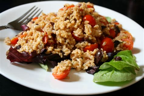 Easy Mediterranean Brown Rice