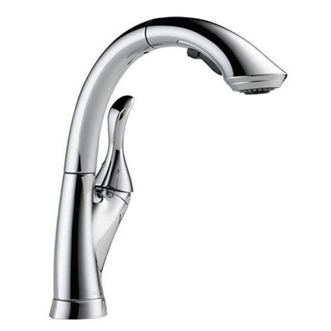 Delta Linden Kitchen Faucet by Delta 4153 Dst Linden Single Handle Pull Out Kitchen