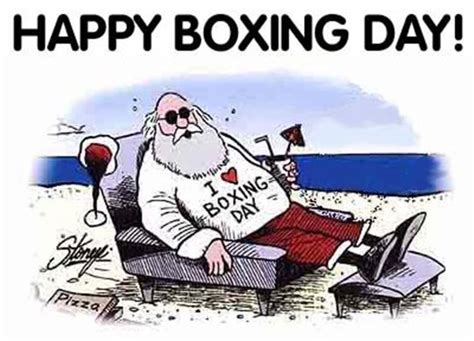 what is boxing day happy boxing day
