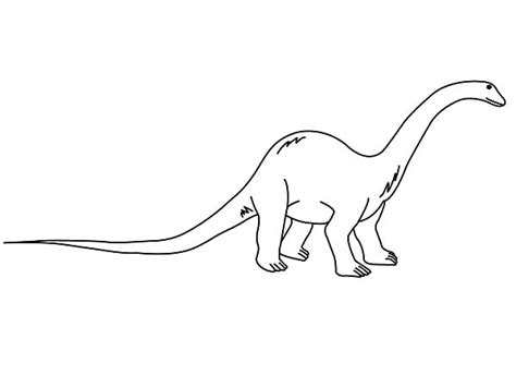 Diplodocus Coloring Pages