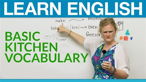 Learn English Basic Kitchen Vocabulary · Engvid