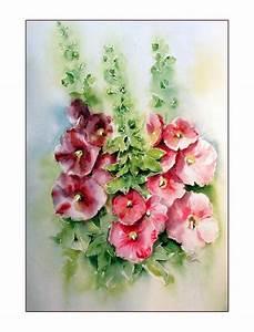 Blumen Bilder Gemalt : 75 besten rittersporn sockrosen eisenhut bilder auf pinterest eisenhut rittersporn und ~ Orissabook.com Haus und Dekorationen