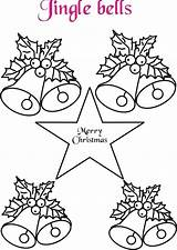 Bells Coloring Pages Jingle Bell Drawing Christmas Pow Wow Printable Fancy Getdrawings Colouring Sheets Template sketch template