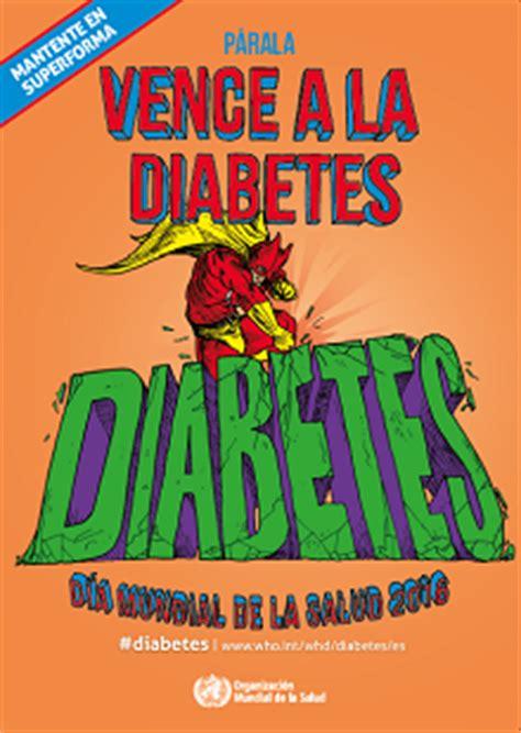 oms carteles mantente en superforma vence  la diabetes