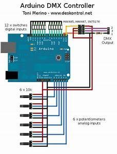 Mini Controlador Dmx Con Arduino