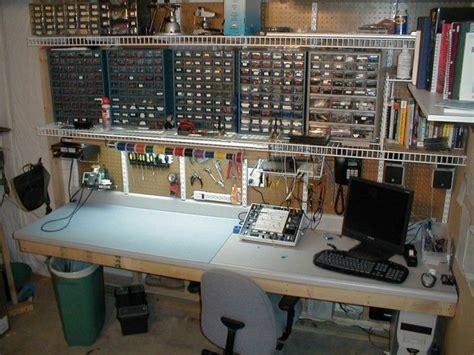 kickass electronics workbench geek pinterest work