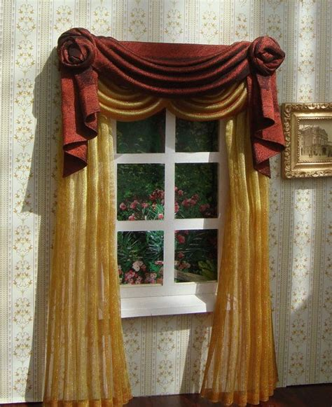 107 best dollhouse miniature curtains images on