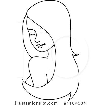 hair clipart black and white hair clipart 1104584 illustration by rosie piter