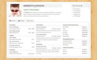resume with portfolio link buzzgfx freelancer resume portfolio wrapbootstrap buzzgfx