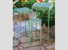 Clara IndoorOutdoor Nesting Tables Outdoor Trays