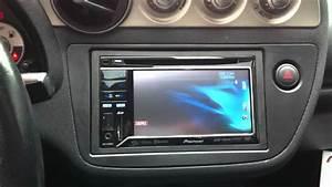 2004 Acura Rsx Pioneer Avh-p3300bt Double Din Radio Bluetooth Ipod