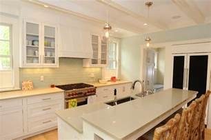 Traditional Bathroom Vanities And Sinks by Cool White Shaker Cabinets Method Other Metro Beach Style