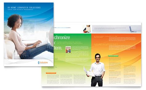 It Services Brochure Template by Computer It Services Brochure Template Design