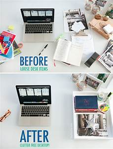 Organize Your Desk - The Chic Site