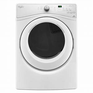 Whirlpool Duet 7 4 Cu  Ft  Electric Dryer In White