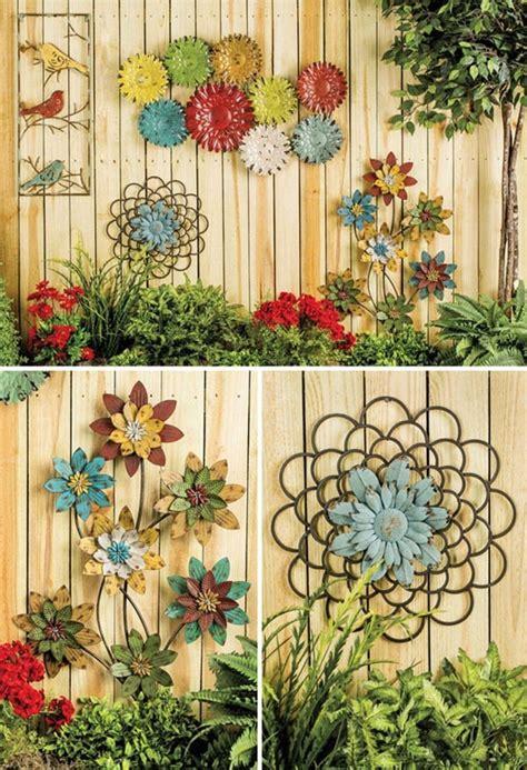 Metall Deko Wand Garten by 44 Decorative Garden Ideas Unfold The Charm Of The