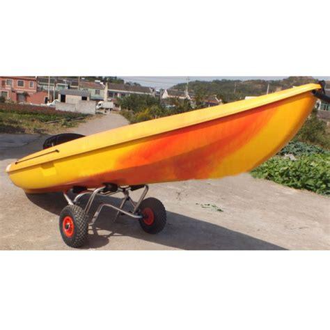 Boat Gear by Aluminum Jon Kayak Boat Canoe Gear Dolly Cart Trailer