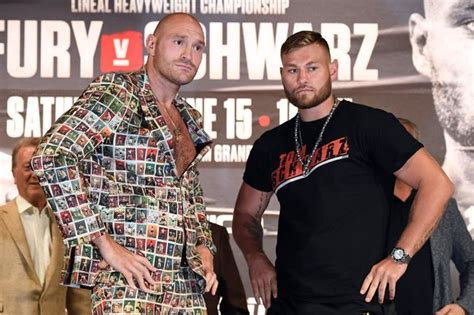 Why Tyson Fury has no plans to fight in UK after Tom ...