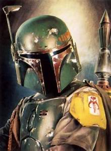 Boba Fett paintings
