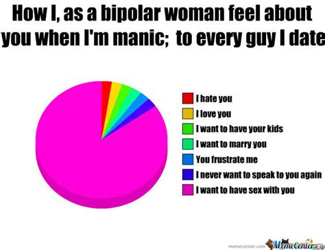 Bipolar Meme - bipolar women by alikun meme center