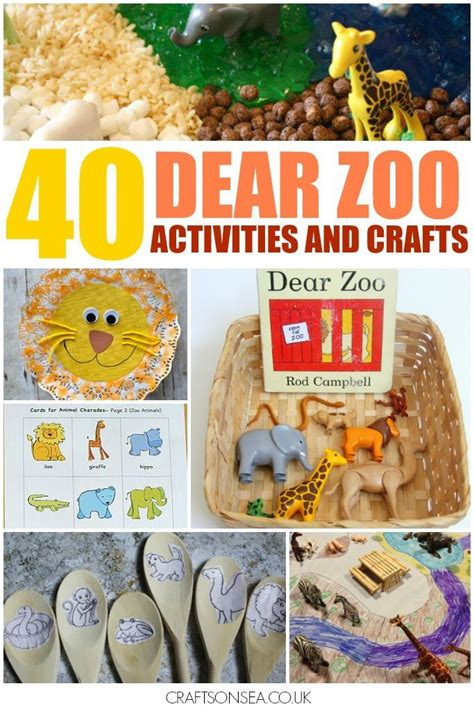 zoo activities crafts dear animal preschool toddlers arts eyfs animals literacy sensory toddler math sheets play colouring maths easy craft